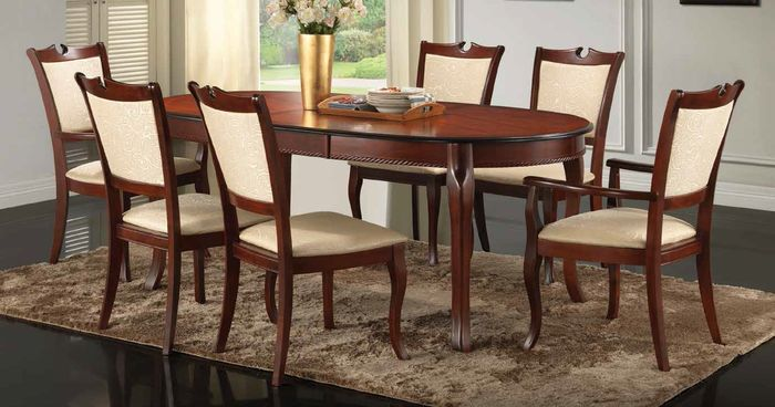 Set Royal stol+6 stolica