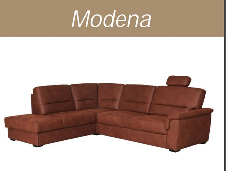 Sjedeca kutna  garnitura Modena