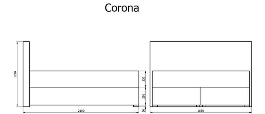 Krevet Box spring Corona 140/160x200cm